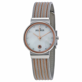 Skagen 355SSRS  Ladies Quartz Watch