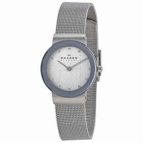 Skagen 358SSSD Classic Mesh Ladies Quartz Watch