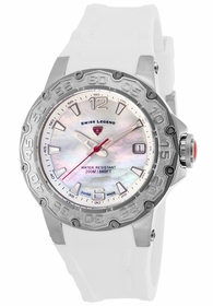 Swiss Legend SL-14098SM-02-WHT Ultrasonic Ladies Quartz Watch