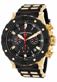 Swiss Legend SL-15253SM-YG-01-BB Hunter Mens Chronograph Quartz Watch