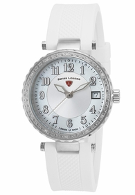 Swiss Legend SL-16002SM-02-WHT Sea Breeze Ladies Quartz Watch