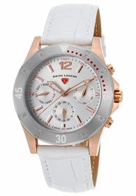 Swiss Legend SL-16016SM-RG-02-SB-WHT Paradiso Ladies Quartz Watch
