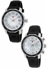 Swiss Legend SL-16191SM-16192SM-02-BLKB Quartz Watch