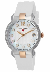 Swiss Legend SL-16591SM-SR-02-WHT Layla Ladies Quartz Watch