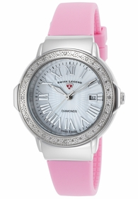 Swiss Legend SL-20032DSM-02-PKS South Beach Ladies Quartz Watch