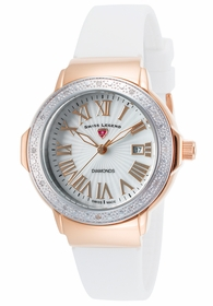 Swiss Legend SL-20032DSM-RG-02-SB-WHT South Beach Ladies Quartz Watch