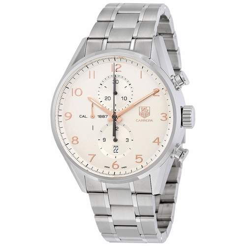 Tag Heuer CAR2012.BA0796 Carrera Mens Chronograph Automatic Watch