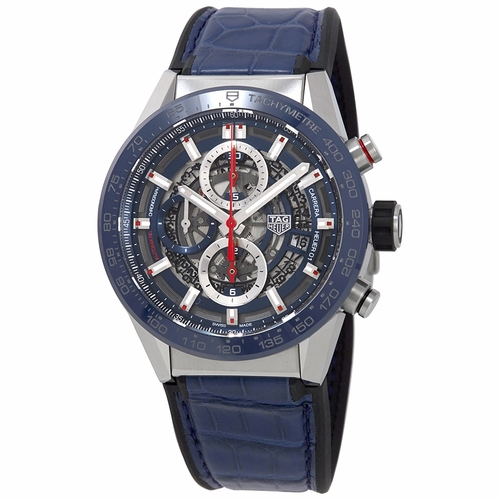 Tag Heuer CAR201T.FC6406 Carrera Mens Chronograph Automatic Watch