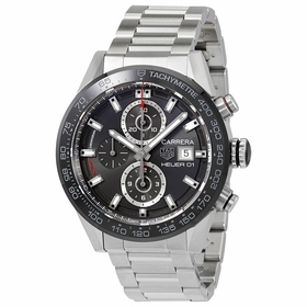 Tag Heuer CAR201W.BA0714 Carrera Mens Chronograph Automatic Watch