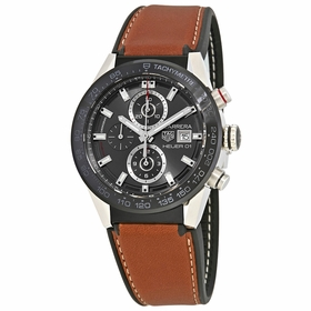 Tag Heuer CAR201W.FT6122 Carrera Mens Chronograph Automatic Watch