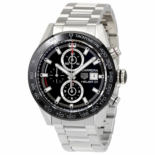 Tag Heuer CAR201Z.BA0714 Carrera Mens Chronograph Automatic Watch