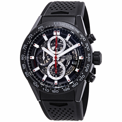 Tag Heuer CAR2090.FT6088 Carrera Mens Chronograph Automatic Watch