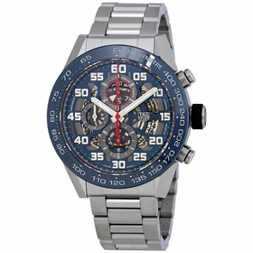 Tag Heuer CAR2A1K.BA0703 Carrera Mens Chronograph Automatic Watch