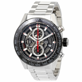Tag Heuer CAR2A1W.BA0703 Carrera Mens Chronograph Automatic Watch
