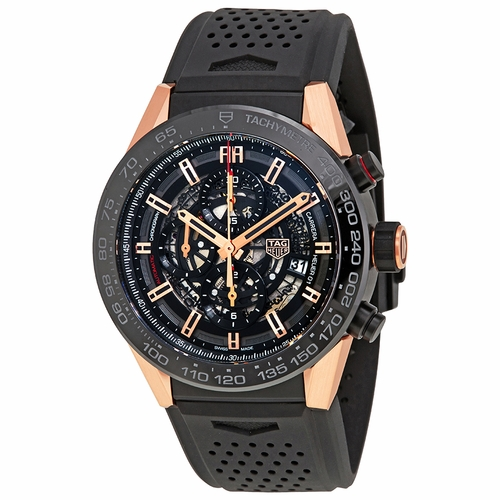 Tag Heuer CAR2A5A.FT6044 Carrera Mens Chronograph Automatic Watch