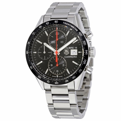 Tag Heuer CV201AK.BA0727 Carrera Mens Chronograph Automatic Watch