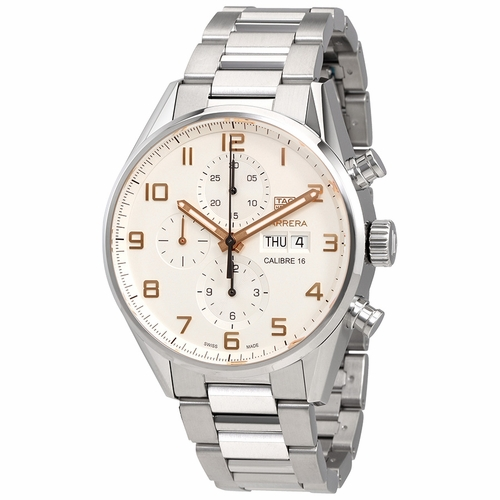 Tag Heuer CV2A1AC.BA0738 Carrera Mens Chronograph Automatic Watch