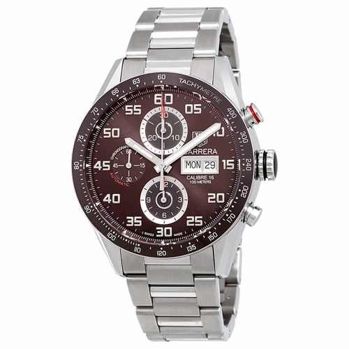Tag Heuer CV2A1S.BA0799 Carrera Mens Chronograph Automatic Watch
