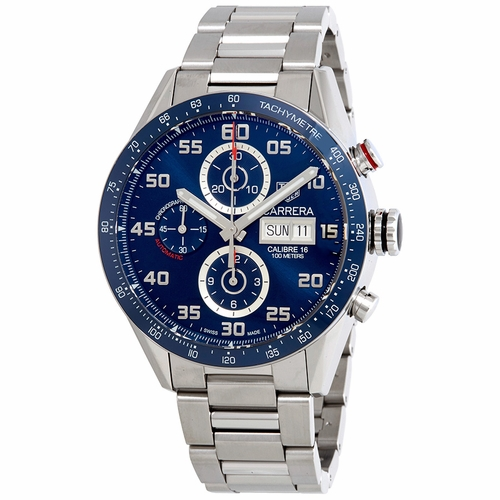 Tag Heuer CV2A1V.BA0738 Carrera Mens Chronograph Automatic Watch