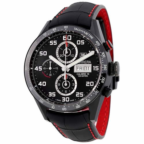 Tag Heuer CV2A81.FC6237 Carrera Mens Chronograph Automatic Watch