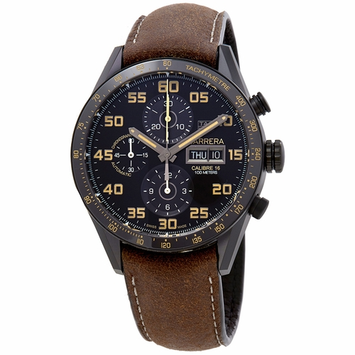 Tag Heuer CV2A84.FC6394 Carrera Mens Chronograph Automatic Watch