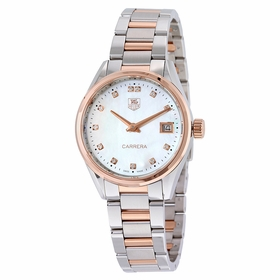 Tag Heuer WAR1352.BD0779 Carrera Ladies Quartz Watch