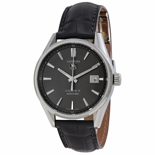 Tag Heuer WAR211C.FC6336 Carrera Calibre 5 Mens Automatic Watch