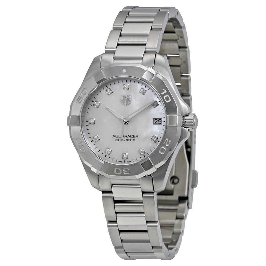 91ab6f13a42 Tag Heuer WAY1313.BA0915 Aquaracer Ladies Quartz Watch
