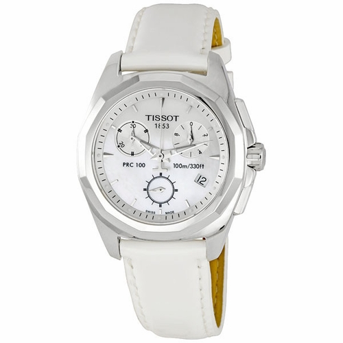 Tissot T008.217.16.111.00 PRC 100 Ladies Chronograph Quartz Watch