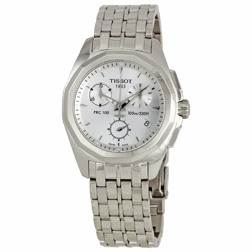 Tissot T008.217.11.031.00 PRC 100 Ladies Chronograph Quartz Watch