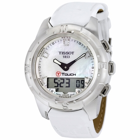 Tissot T0472204611600 T-Touch II Ladies Chronograph Quartz Watch