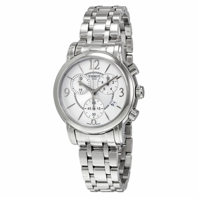 Tissot T050.217.11.017.00 Dressport Ladies Chronograph Quartz Watch
