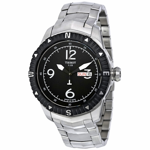 Tissot T-Navigator Automatic Black Dial Men's Watch