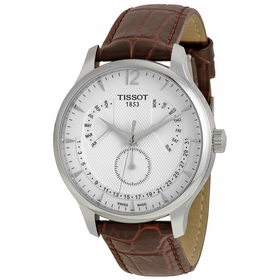 Tissot T063.637.16.037.00 Tradition Perpetual Calendar Mens Quartz Watch