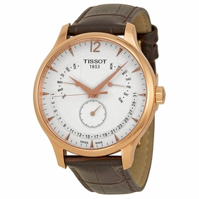 Tissot T063.637.36.037.00 Tradition Perpetual Calendar Mens Quartz Watch