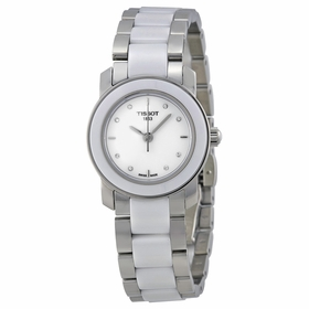 Tissot T064.210.22.016.00 T-Trend Cera Ladies Quartz Watch