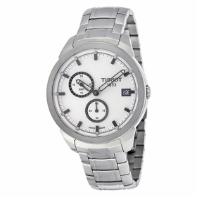 Tissot T0694394403100 Titanium GMT Mens Chronograph Quartz Watch
