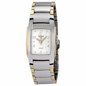 Tissot T0733102201700 T-10 Ladies Quartz Watch