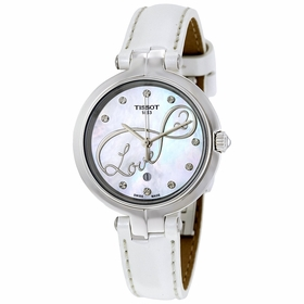 Tissot T0942101611101 Flamingo Ladies Quartz Watch