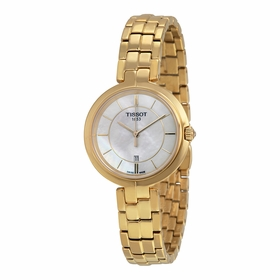 Tissot T094.210.33.111.00 Flamingo Ladies Quartz Watch