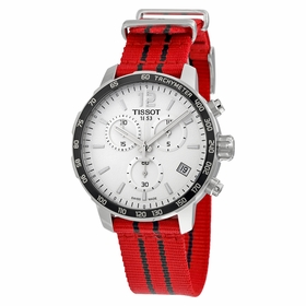 Tissot T095.417.17.037.04 Quickster Chicago Bulls NBA Special Edition Mens Chronograph Quartz Watch