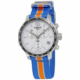 Tissot T095.417.17.037.06 Quickster Knicks NBA Special Edition Mens Chronograph Quartz Watch