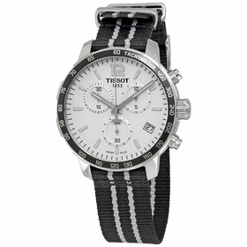 Tissot T095.417.17.037.07 Quickster Spurs NBA Special Edition Mens Chronograph Quartz Watch