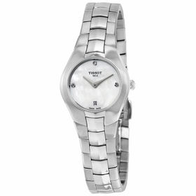Tissot T0960091111600 T-Round Ladies Quartz Watch
