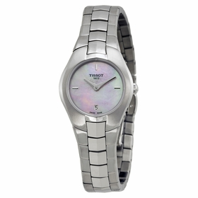Tissot T0960091115100 T-Round Ladies Quartz Watch