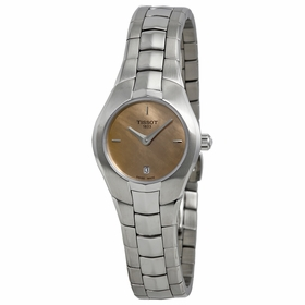 Tissot T0960091143100 T-Round Ladies Quartz Watch