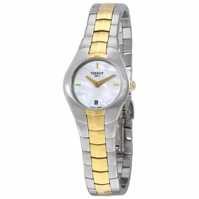 Tissot T0960092211100 T-Round Ladies Quartz Watch