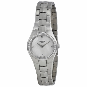 Tissot T096.009.61.116.00 T-Round Ladies Quartz Watch