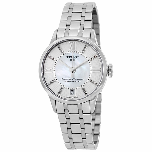 Tissot T099.207.11.116.00 Chemin Des Tourelles Ladies Automatic Watch