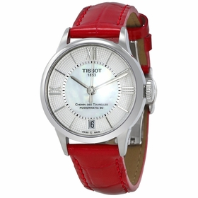 Tissot T099.207.16.118.00 Chemin Des Tourelles Ladies Automatic Watch